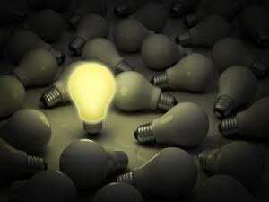 Lightbulb (c) 2012 Courtesy of Master Isolated Images