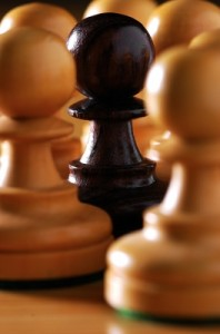 The Different Among Pawns by podpad, www.freedigitalphotos.net