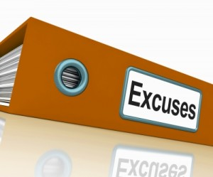 File With Excuses Word by Stuart Miles