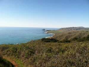 Just another day in the hiking paradise of Big Sur