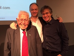 Marc Gafni, Mauk Pieper & Paul de Blot at Nijenrode University