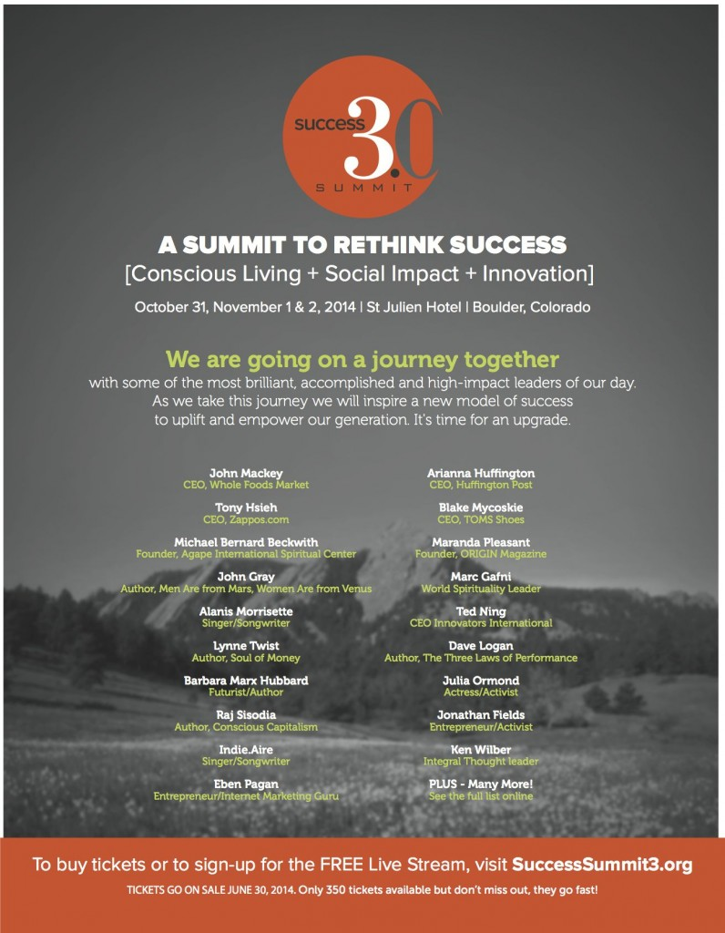 Success 3.0 Summit Flyer