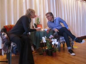 Sally Kempton and Marc Gafni Esalen 2014